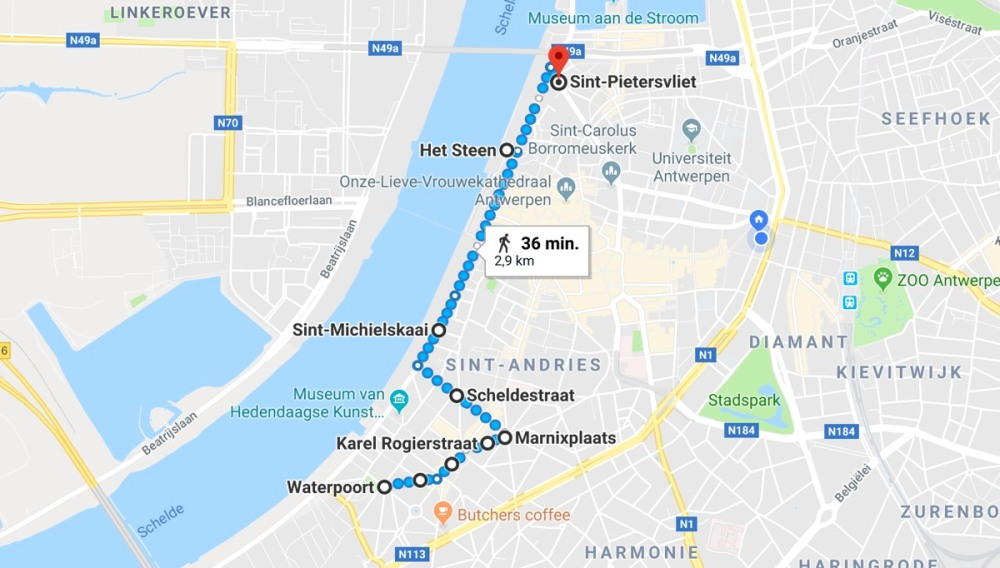 AntwerpPride2018_parcours