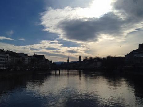 Zurich_river