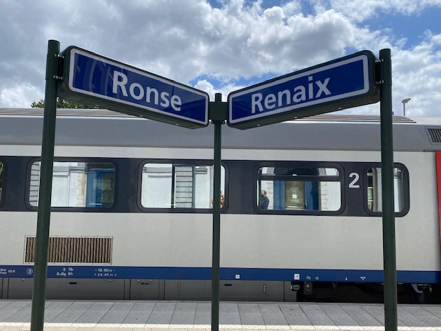 Ronse_station_sign